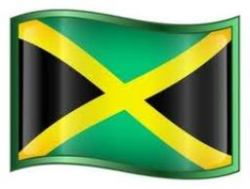 The National Flag of Jamaica