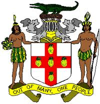 jamaican coat of arms