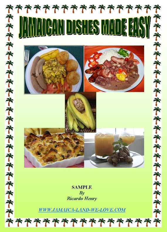Jamaican Dishes Made Easy Ebook Cover