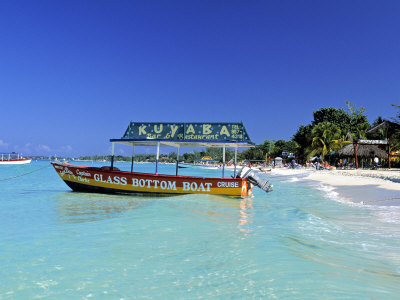 Getting Around Jamaica By Glass Bottom Boat