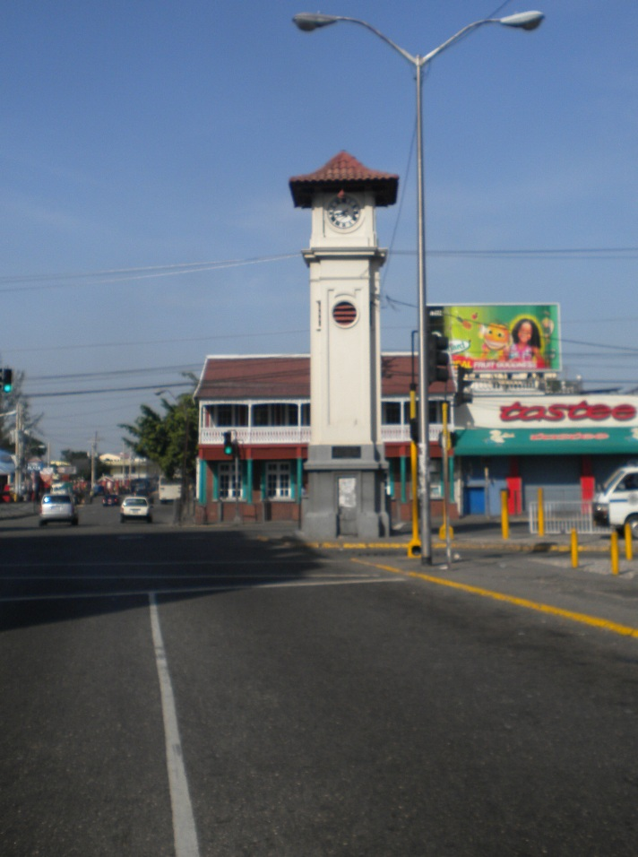 HWT Jamaica, Clock Tower