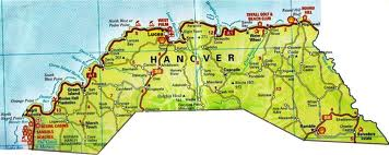 Hanover Jamaica Map