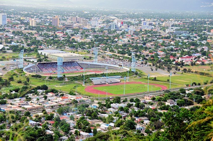 Jamaica National Stadium and Stadium East Kingston