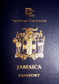 Jamaican Caricom Passport