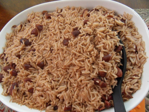 cooking rice and peas jamaican style Jamaican rice and peas recipe is a popular jamaican dish that is served every sunday throughout jamaica this is my version i grew up on.