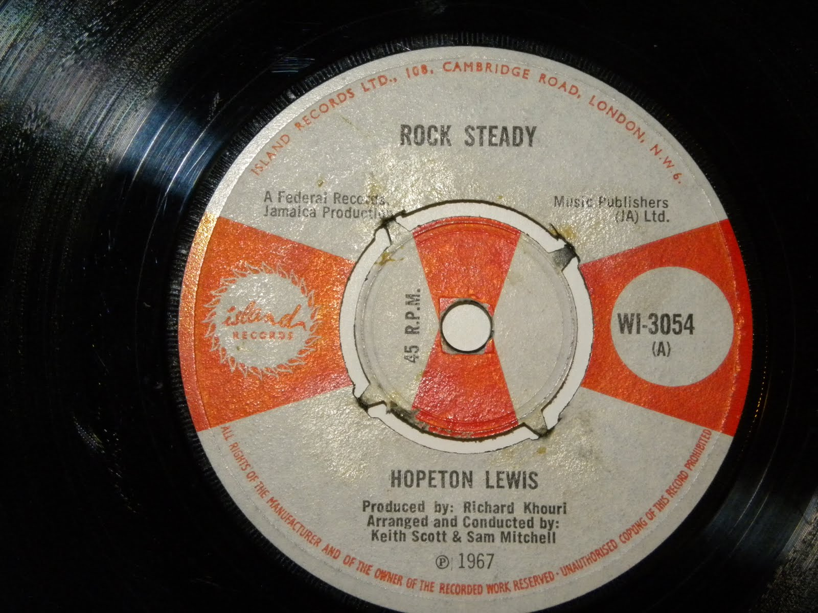 Jamaican Rocksteady Vinyl