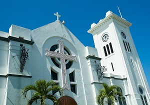 Kingston Parish Church Downtown Jamaica