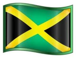 The National Flag of Jamaica