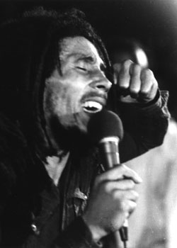 Robert Nesta Marley Singing