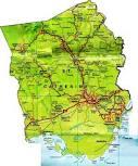 St. Catherine Jamaica Map