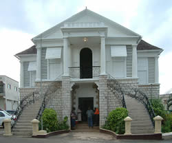 The Mandeville Courthouse Jamaica