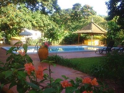 The Mandeville Hotel Poolside
