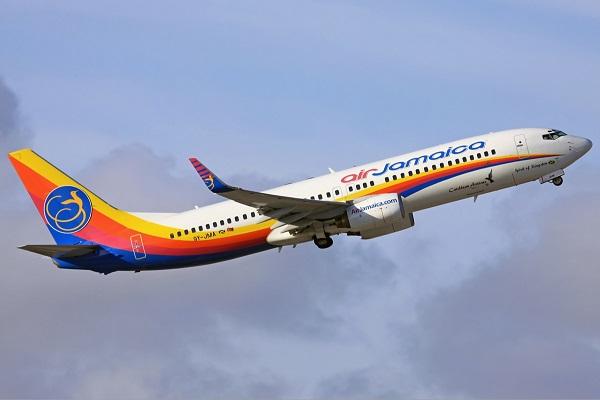 Air Jamaica Caribbean Airlines In Flight
