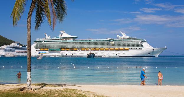 Cruise Ship Docks In Jamaica