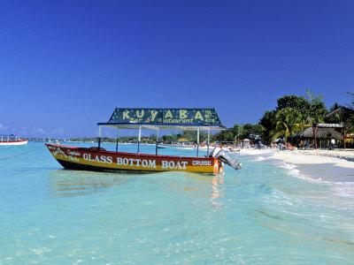 Getting Around Jamaica By Glass Bottom Boat