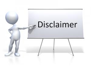 Website Disclaimer