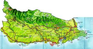St. Thomas Jamaica Map